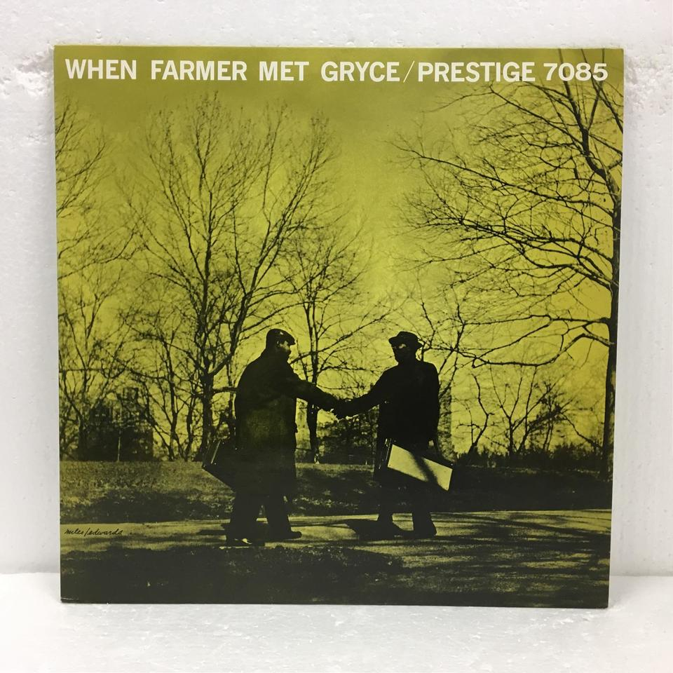 WHEN FARMER MET GRYCE/ART FARMER ART FARMER 画像