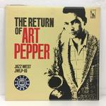 THE RETURN OF ART PEPPER