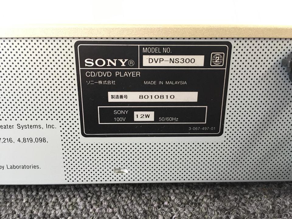 DVP-NS300 SONY 画像