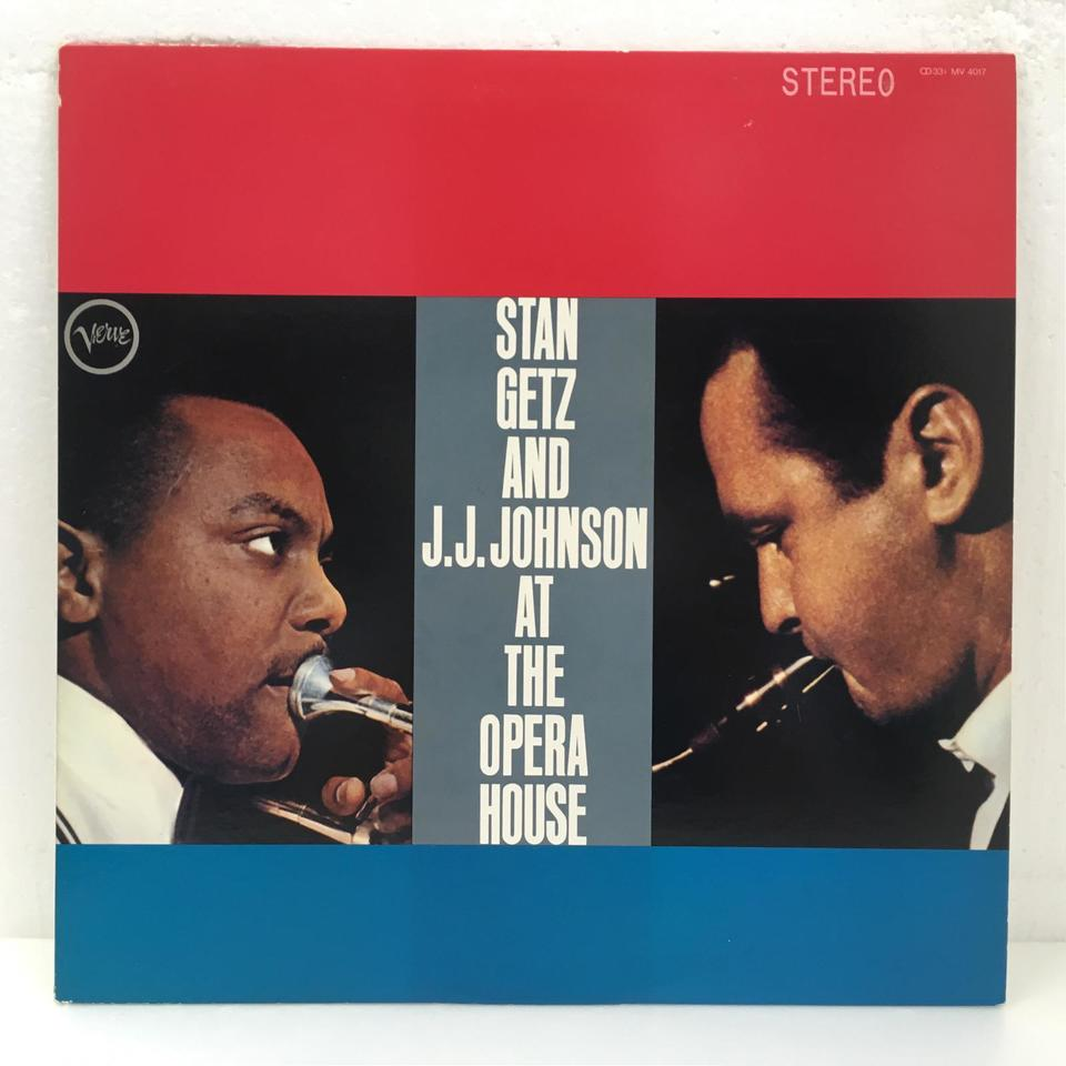 STAN GETZ AND J.J.JOHNSON AT THE OPERA HOUSE STAN GETZ 画像