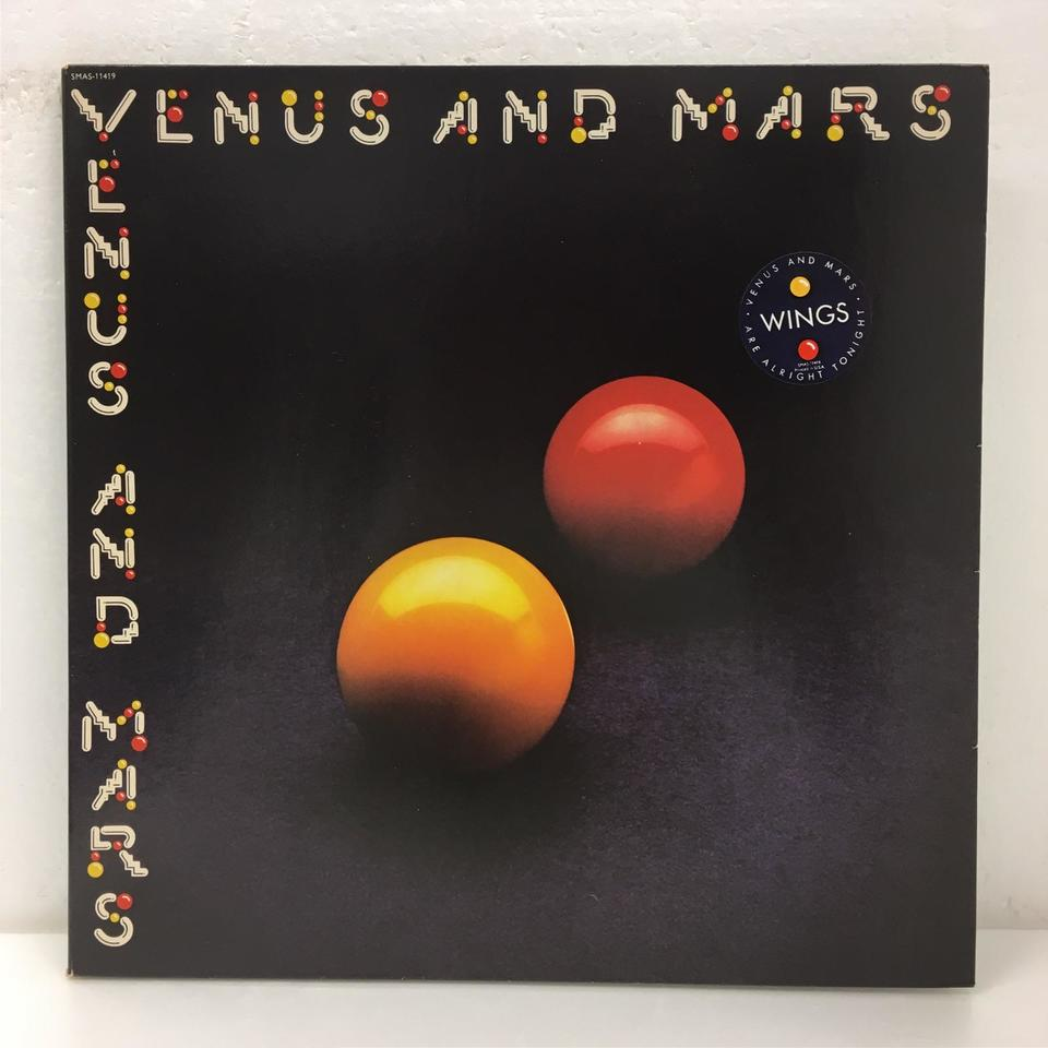 VENUS AND MARS/WINGS WINGS 画像