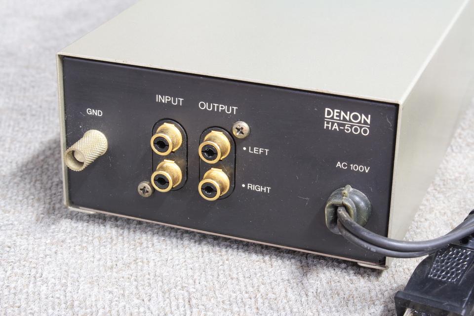 HA-500 DENON 画像