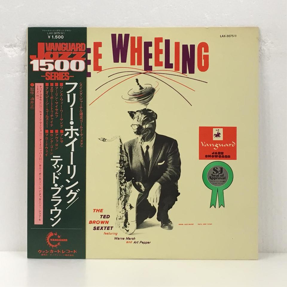 FREE WHEELING/TED BROWN TED BROWN 画像
