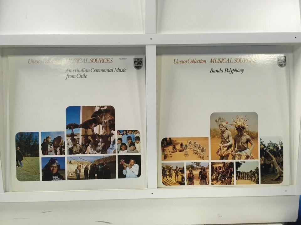 ユネスコ・コレクション「世界の音楽」 2枚セット  画像