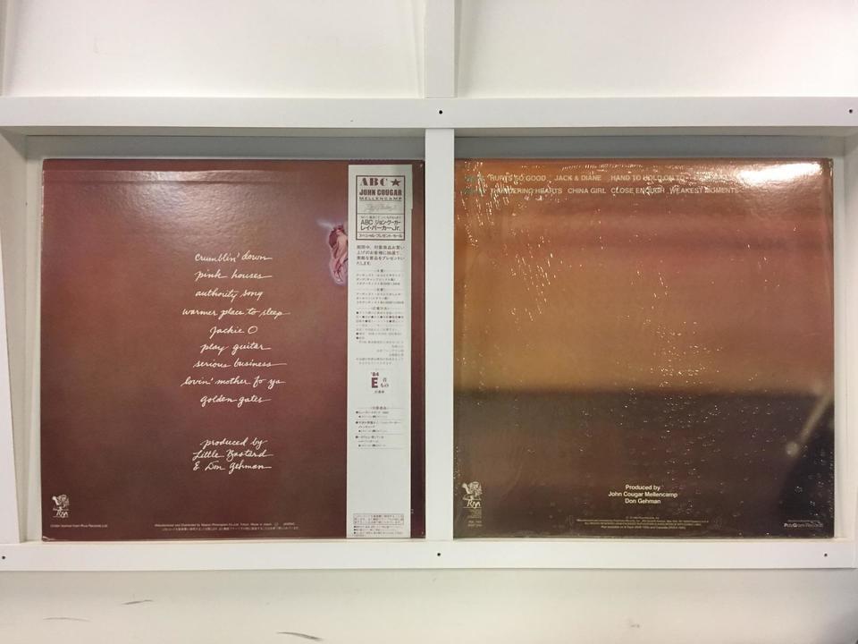 ジョン・クーガー 2枚セット  画像