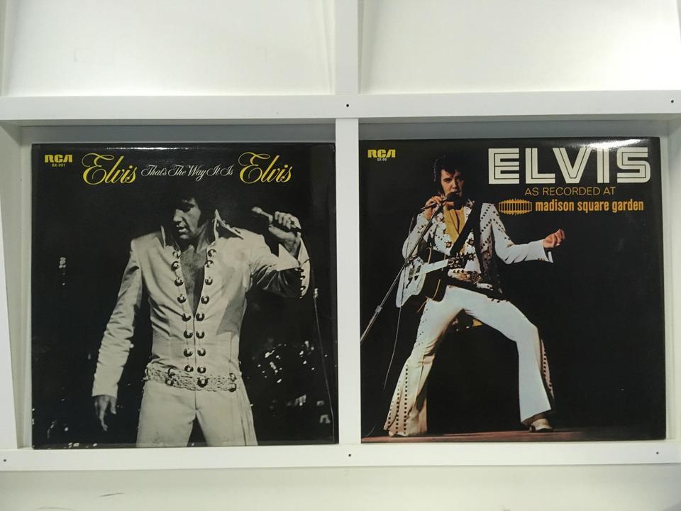 エルヴィス・プレスリー 2枚セット  画像