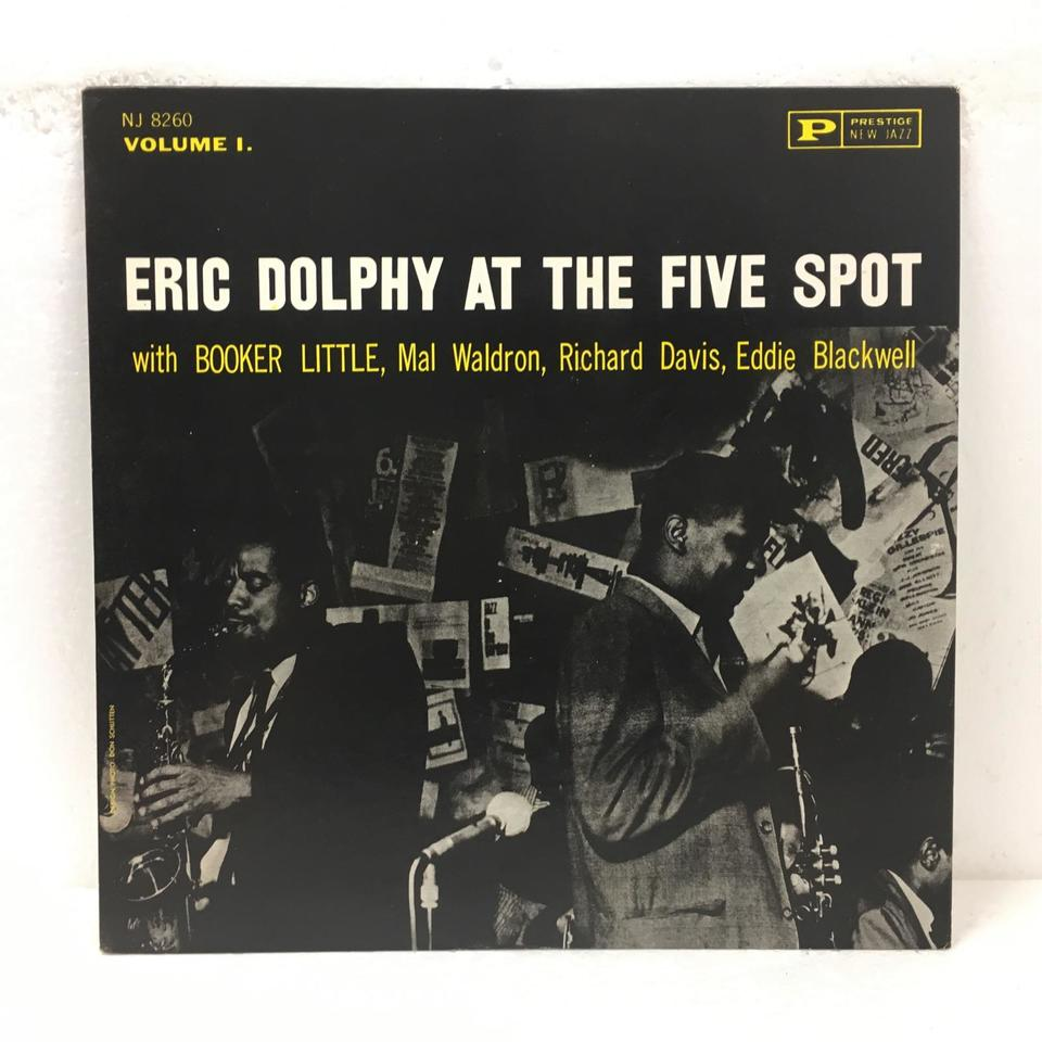 ERIC DOLPHY AT THE FIVE SPOT VOL.1 ERIC DOLPHY 画像