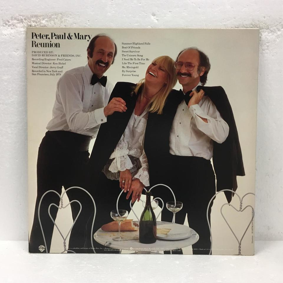 REUNION/PETER,PAUL&MARY PETER,PAUL&MARY 画像