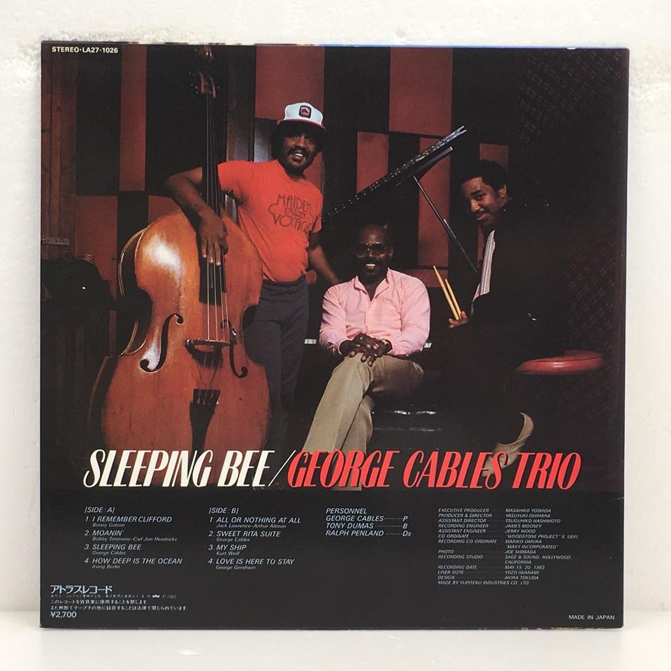 SLEEPING BEE/GEORGE CABLES GEORGE CABLES 画像