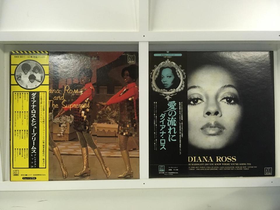 ダイアナ・ロス 2枚セット  画像