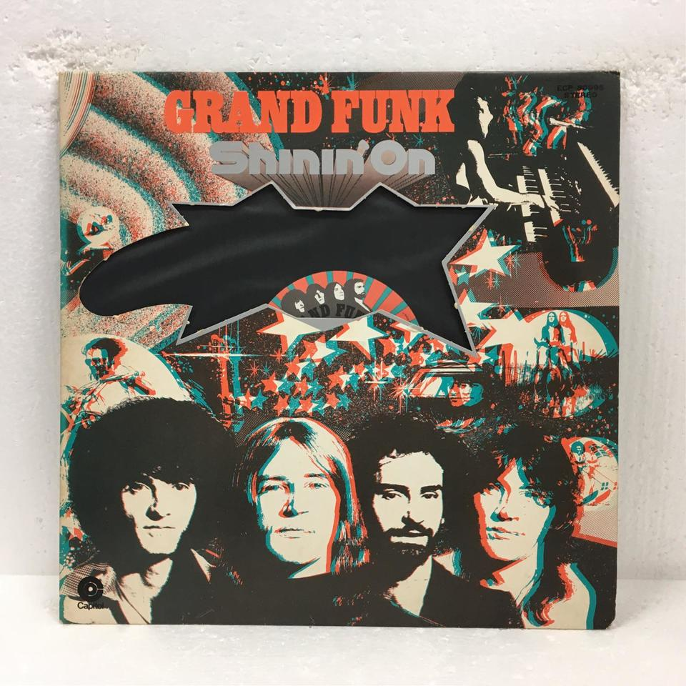 SHININ' ON/GRAND FUNK GRAND FUNK 画像