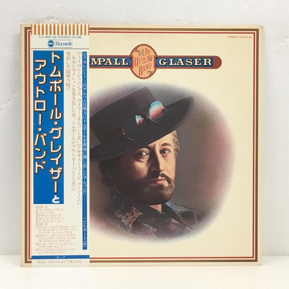 TOMPALL AND HIS OUTLAW BAND/TOMPALL GLASER TOMPALL GLASER 画像