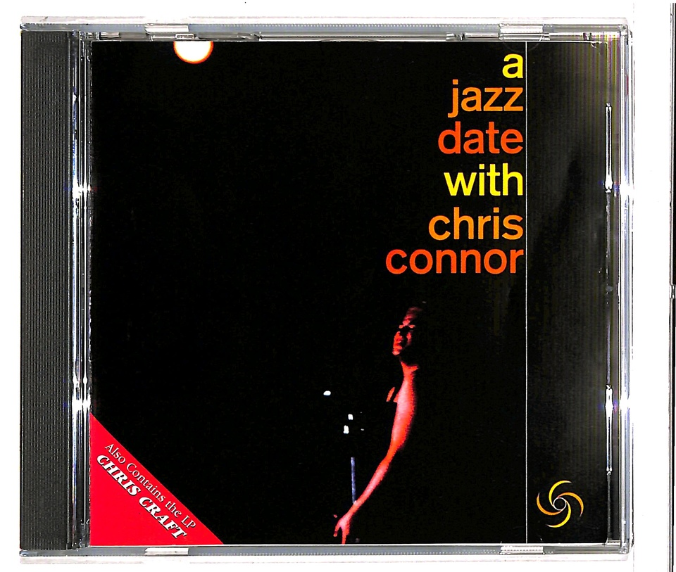 A JAZZ DATE WITH CHRIS CONNOR CHRIS CONNOR 画像