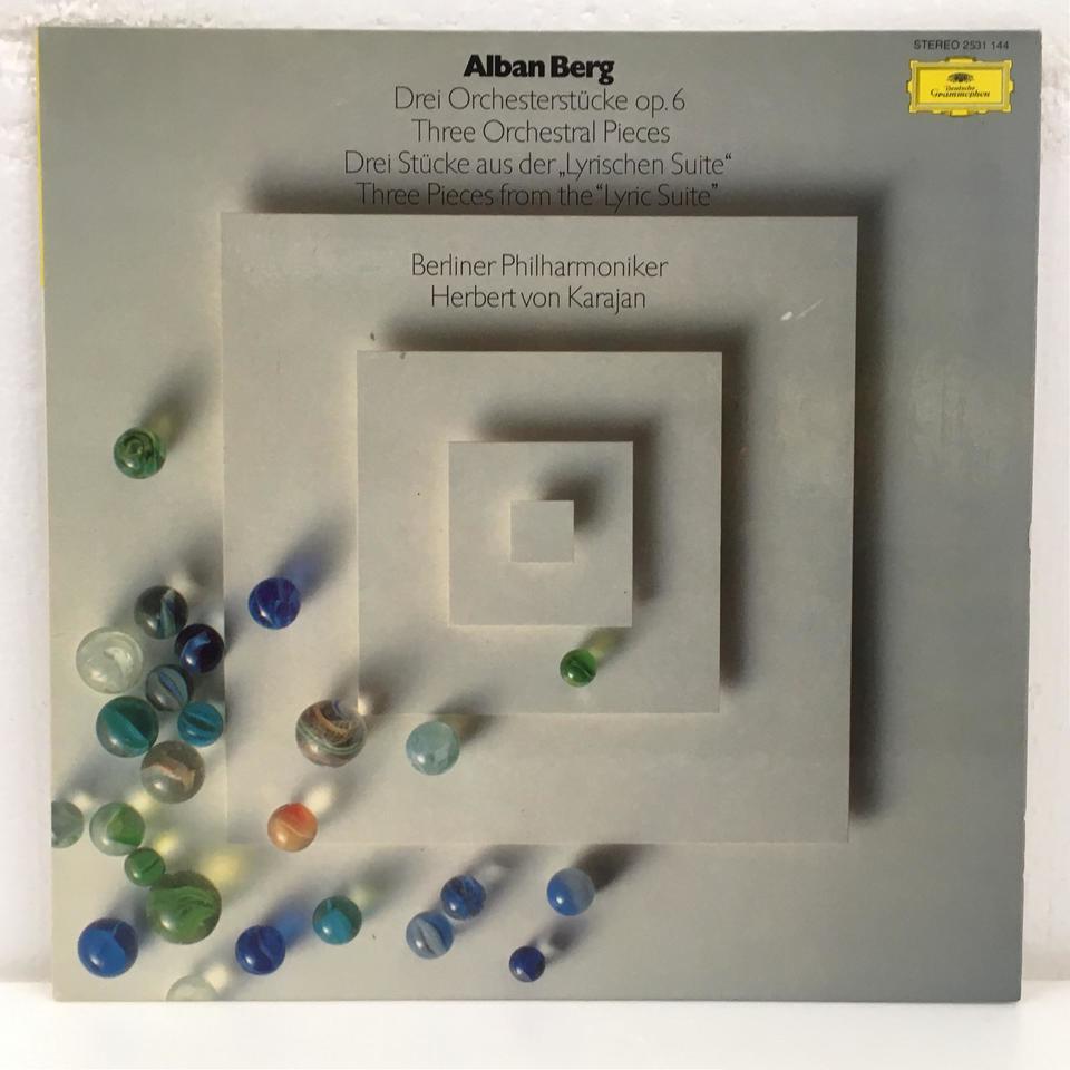 ベルク:管弦楽のための3つの小品 ベルク 画像