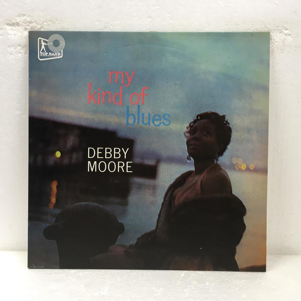MY KIND OF BLUES/DEBBY MOORE DEBBY MOORE 画像