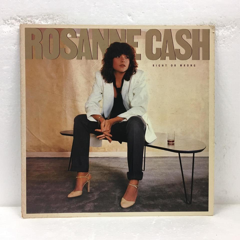 RIGHT OR WRONG/ROSANNE CASH ROSANNE CASH 画像