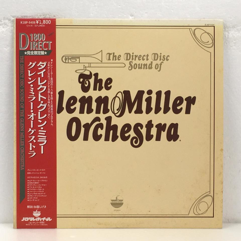 THE DIRECT DISC SOUND OF THE GLENN MILLER ORCHESTRA GLENN MILLER 画像