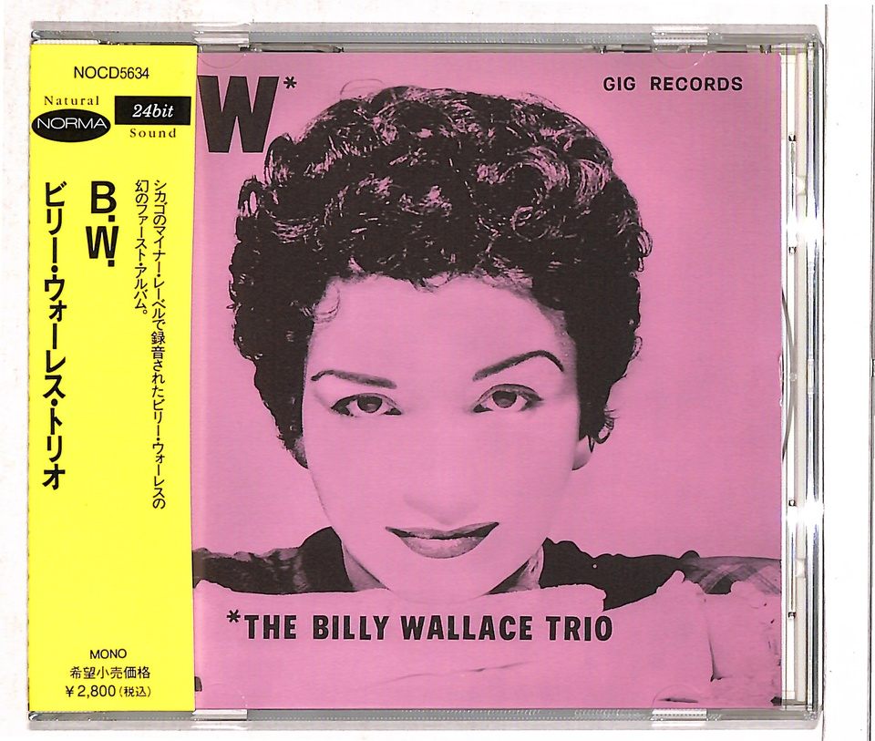 THE BILLY WALLACE TRIO BILLY WALLACE 画像
