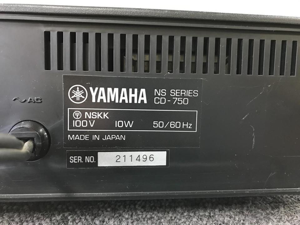 CD-750 YAMAHA 画像