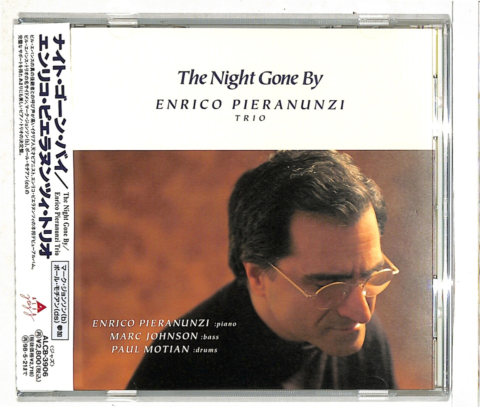 THE NIGHT GONE BY/ENRICO PIERANUNZI TRIO ENRICO PIERANUNZI 画像