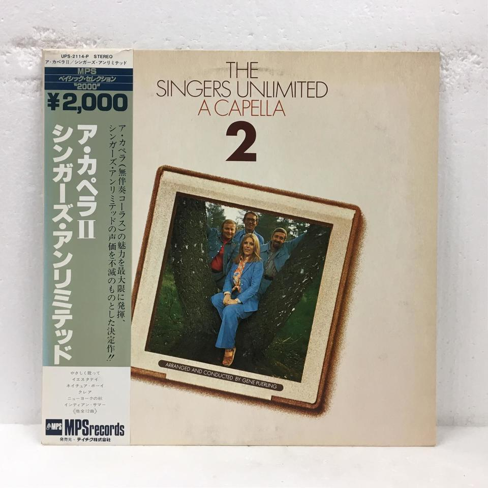A CAPELLA 2/THE SINGERS UNLIMITED THE SINGERS UNLIMITED 画像