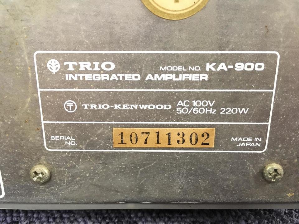 KA-900 TRIO 画像