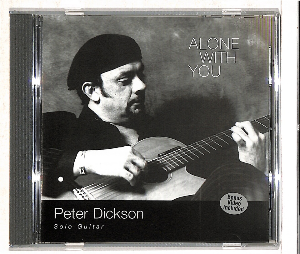 ALONE WITH YOU/PETER DICKSON PETER DICKSON 画像