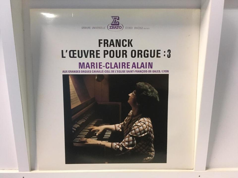 マリー=クレール・アラン フランク オルガン音楽 3枚セット  画像