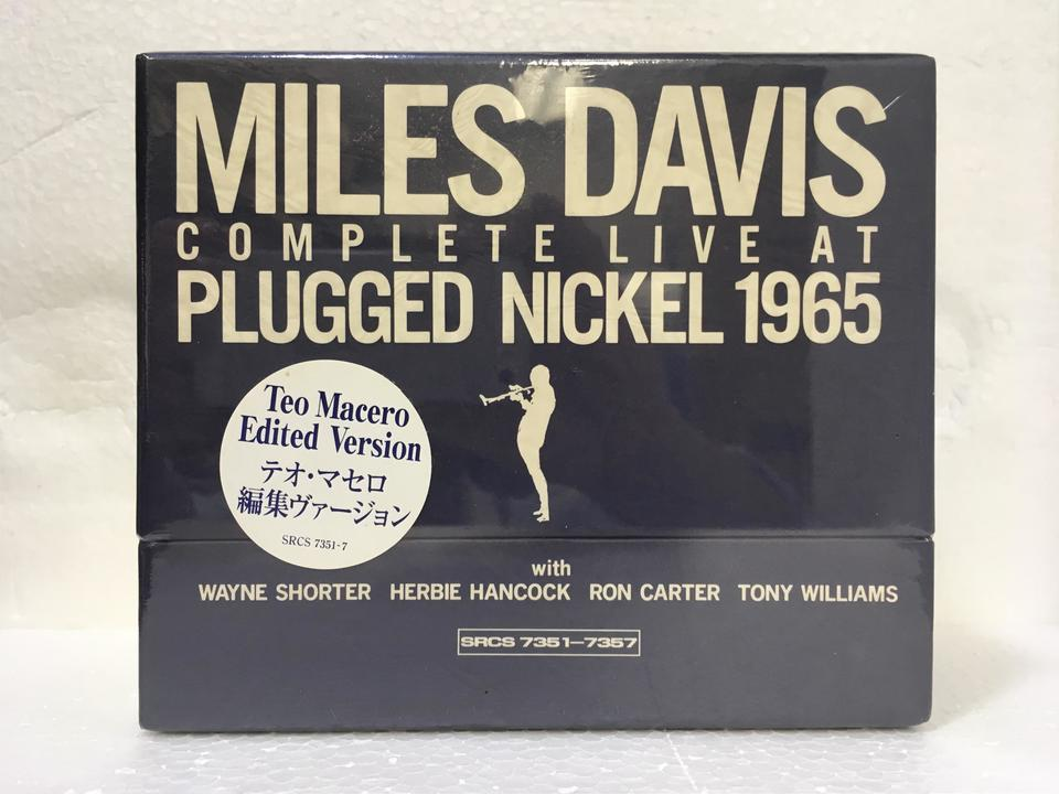 【未開封】COMPLETE LIVE AT PLUGGED NICKEL 1965 MILES DAVIS 画像