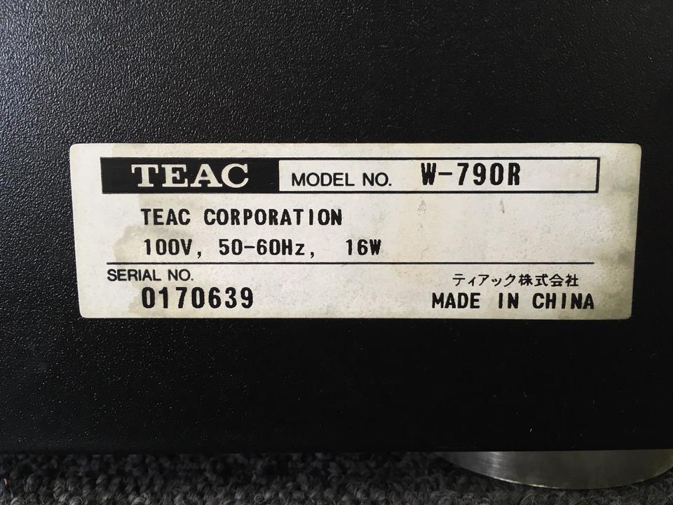 W-790 TEAC 画像