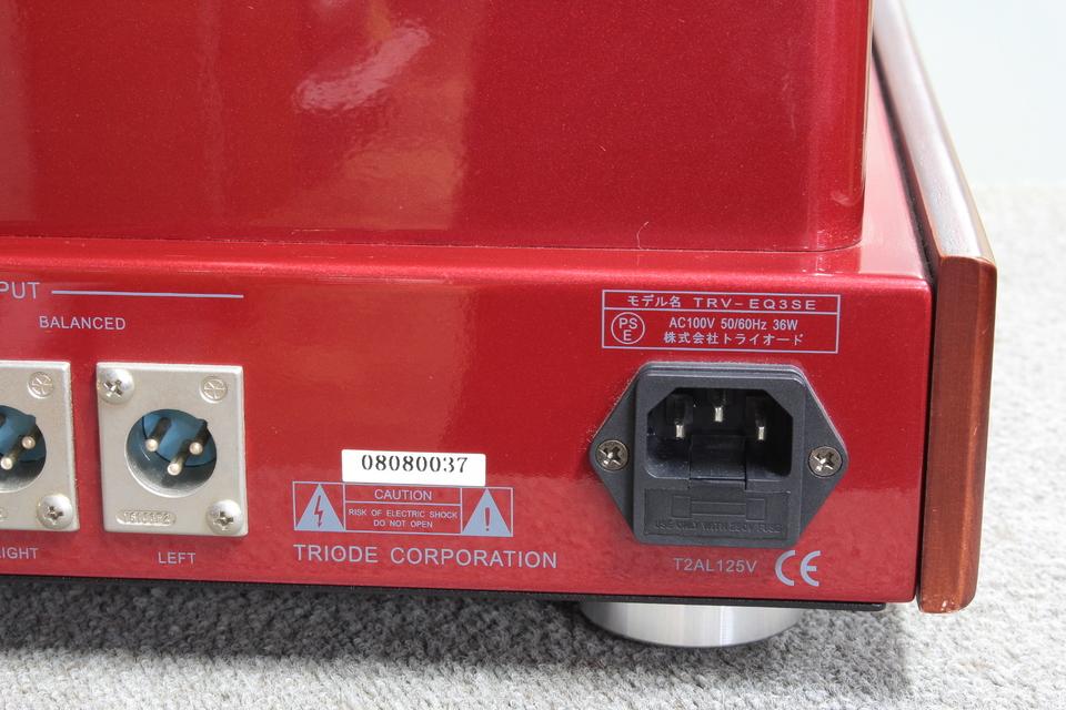 TRV-EQ3SE TRIODE 画像