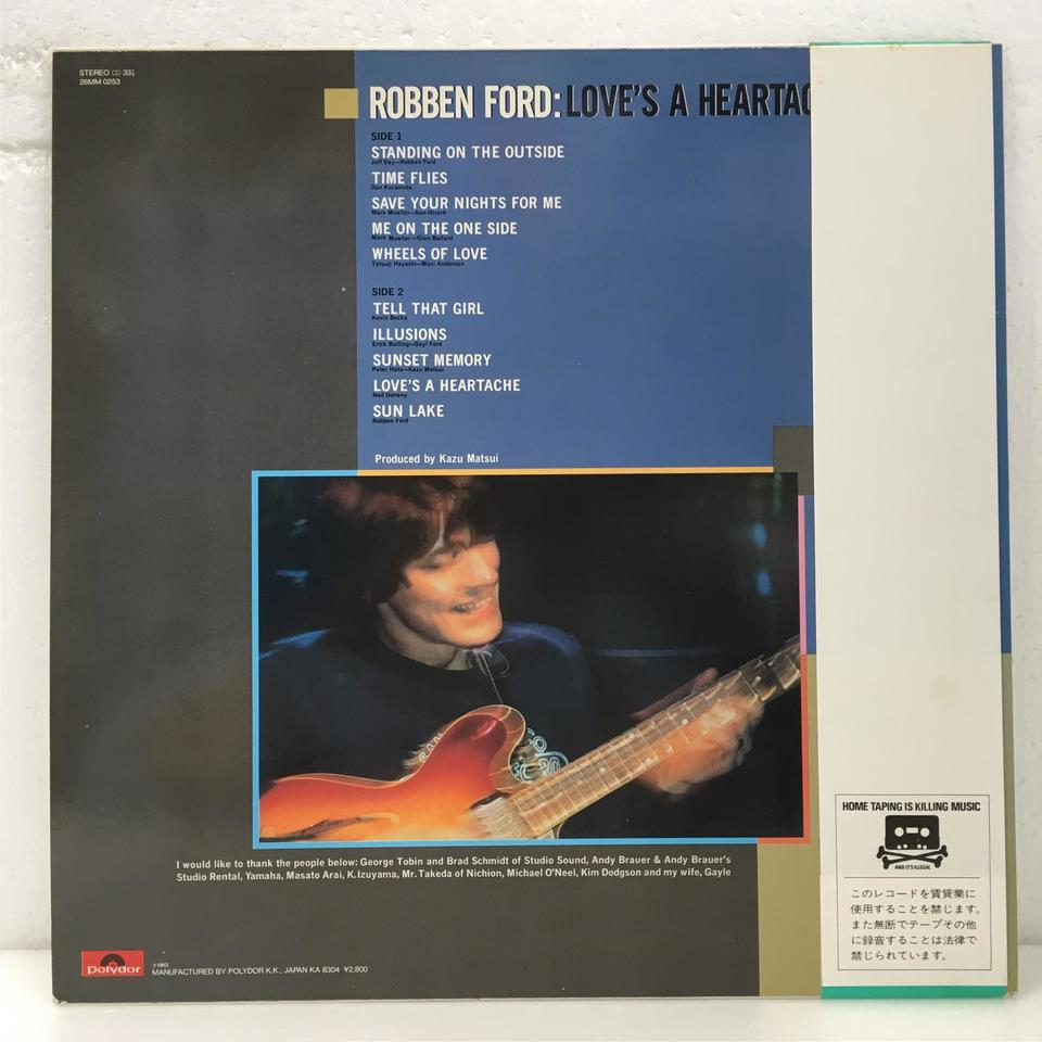 LOVE'S A HEARTACHE/ROBBEN FORD ROBBEN FORD 画像