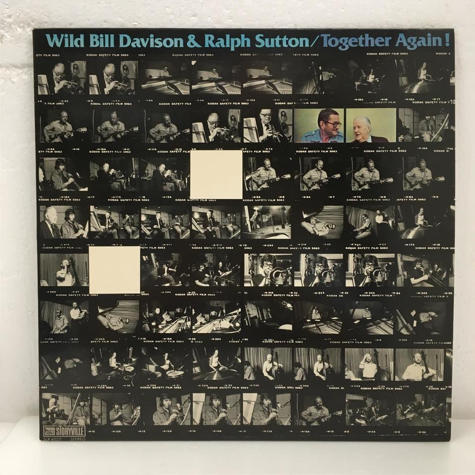 TOGETHER AGAIN!/WILD BILL DAVISON & RALPH SUTTON WILD BILL DAVISON 画像