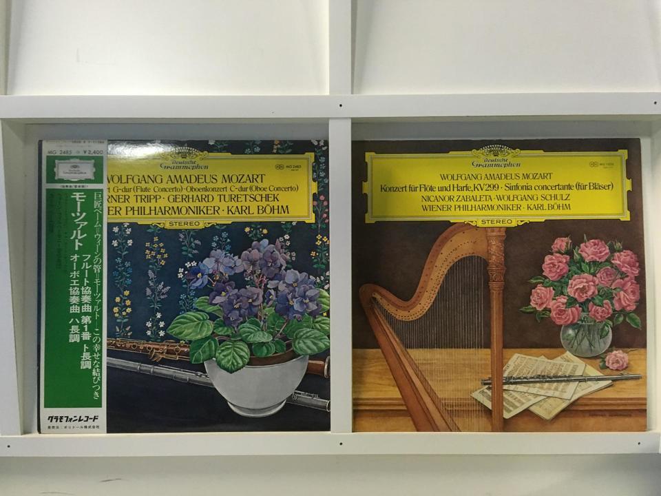 モーツァルト協奏曲  カール・ベーム 5枚セット  画像