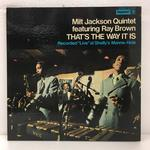 THAT'S THE WAY IT IS/MILT JACKSON