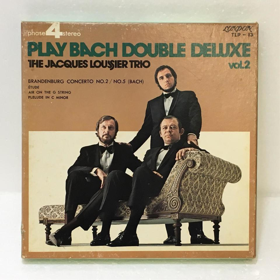 PLAY BACH  DOUBLE DELUXE VOL.2/JACQUES LOUSSIER TRIO JACQUES LOUSSIER 画像
