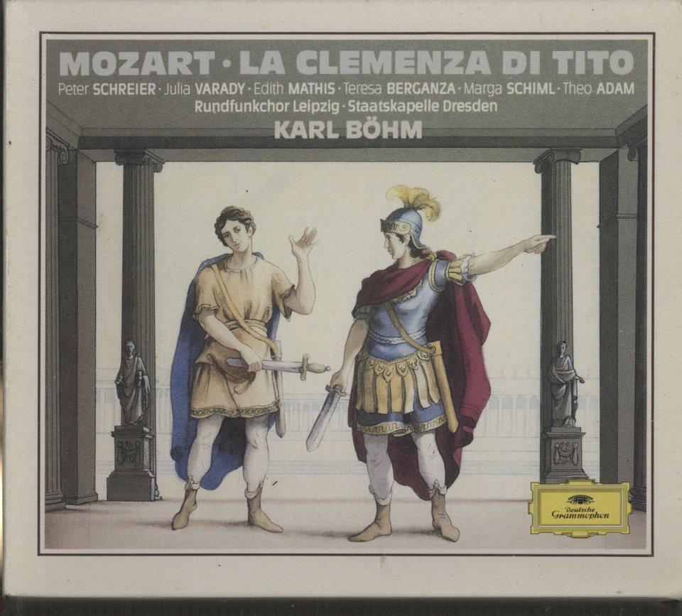 モーツァルト:歌劇「皇帝ティートの慈悲」 モーツァルト 画像