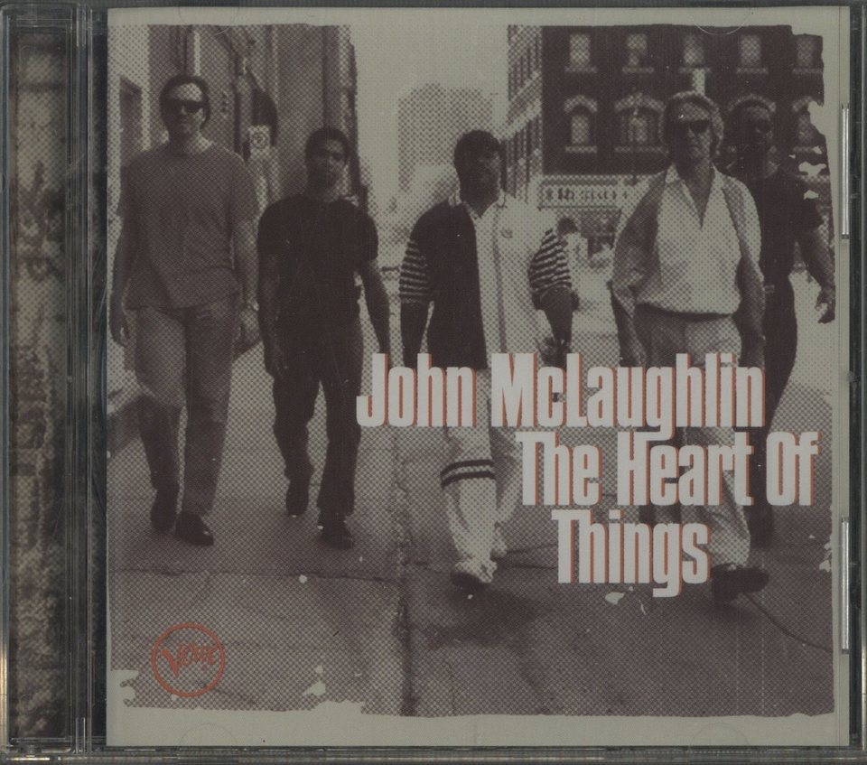 THE HEART OF THINGS/JOHN MCLAUGHLIN JOHN MCLAUGHLIN 画像