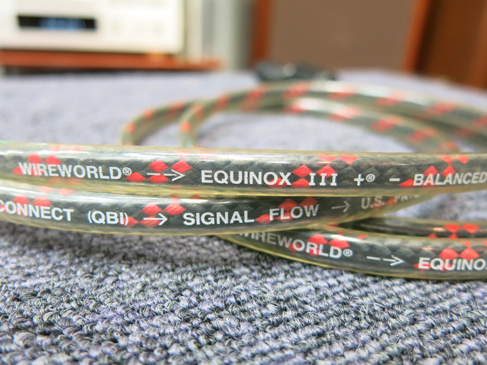 EQUINOX 3/1.0m WIRE WORLD 画像