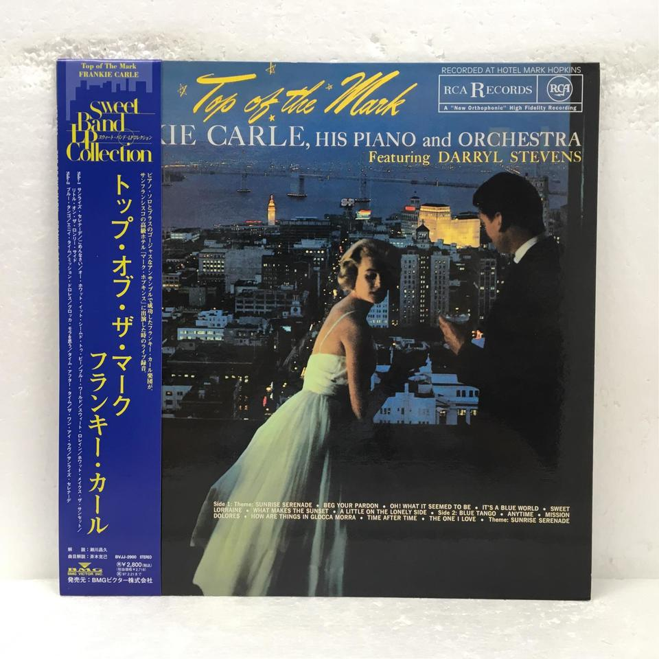 TOP OF THE MARK/FRANKIE CARLE FRANKIE CARLE 画像