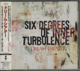 SIX DEGREES OF INNER TURBULENCE/DREAM THEATER DREAM THEATER 画像