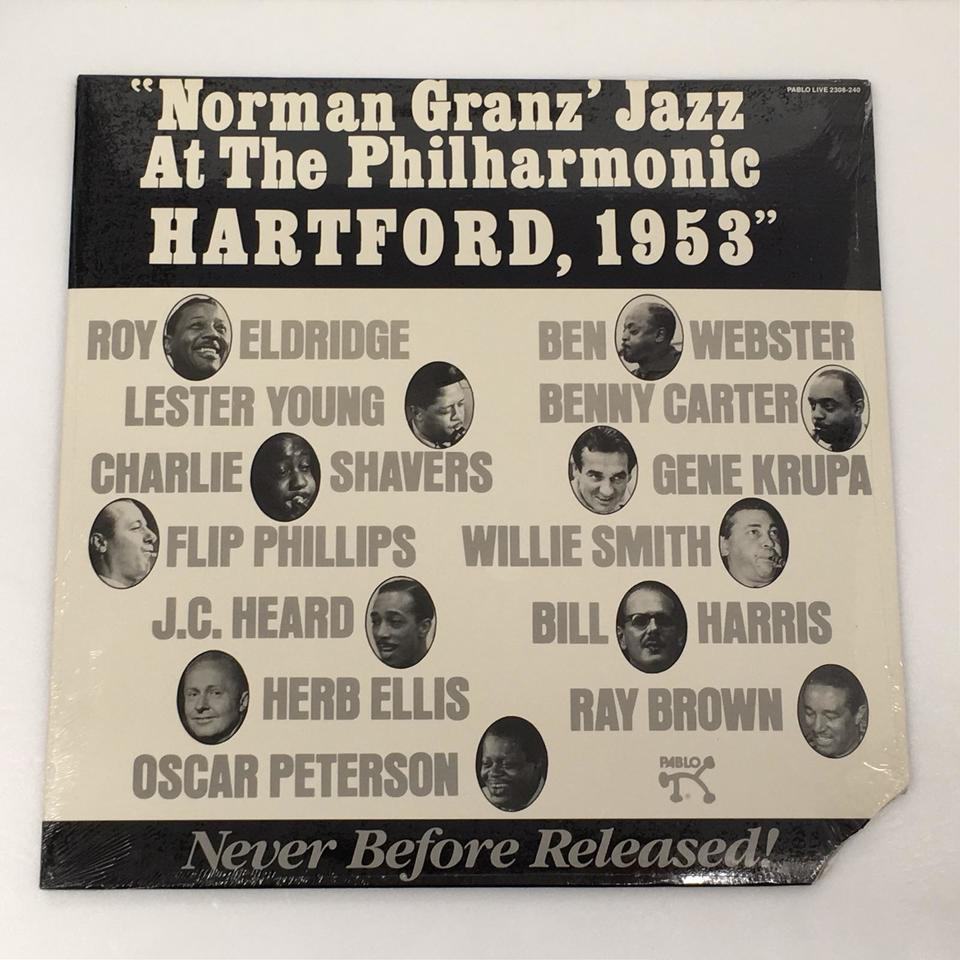 【未開封】NORMAN GRANZ JAZZ AT THE PHILHARMONIC HARTFORD, 1953 V.A. 画像