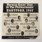 【未開封】NORMAN GRANZ JAZZ AT THE PHILHARMONIC HARTFORD, 1953