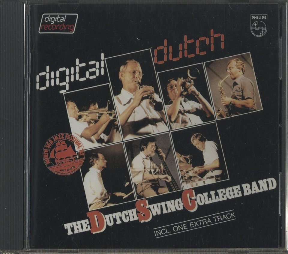 DIGITAL DUTCH/THE DUTCH SWING COLLEGE BAND THE DUTCH SWING COLLEGE BAND 画像