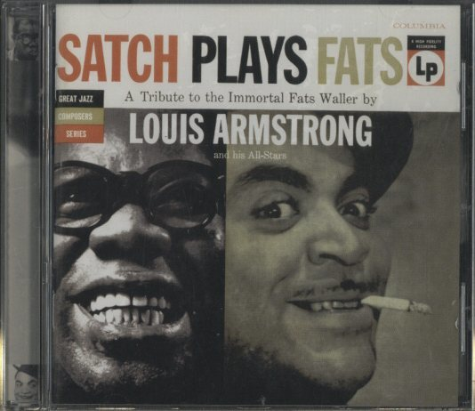 SATCH PLAYS FATS/LOUIS ARMSTRONG LOUIS ARMSTRONG 画像