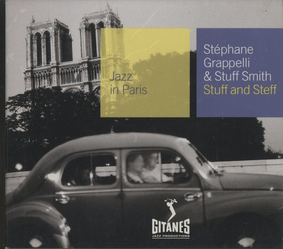 STUFF AND STEFF/STEPHANE GRAPPELLI & STUFF SMITH STEPHANE GRAPPELLI & STUFF SMITH 画像