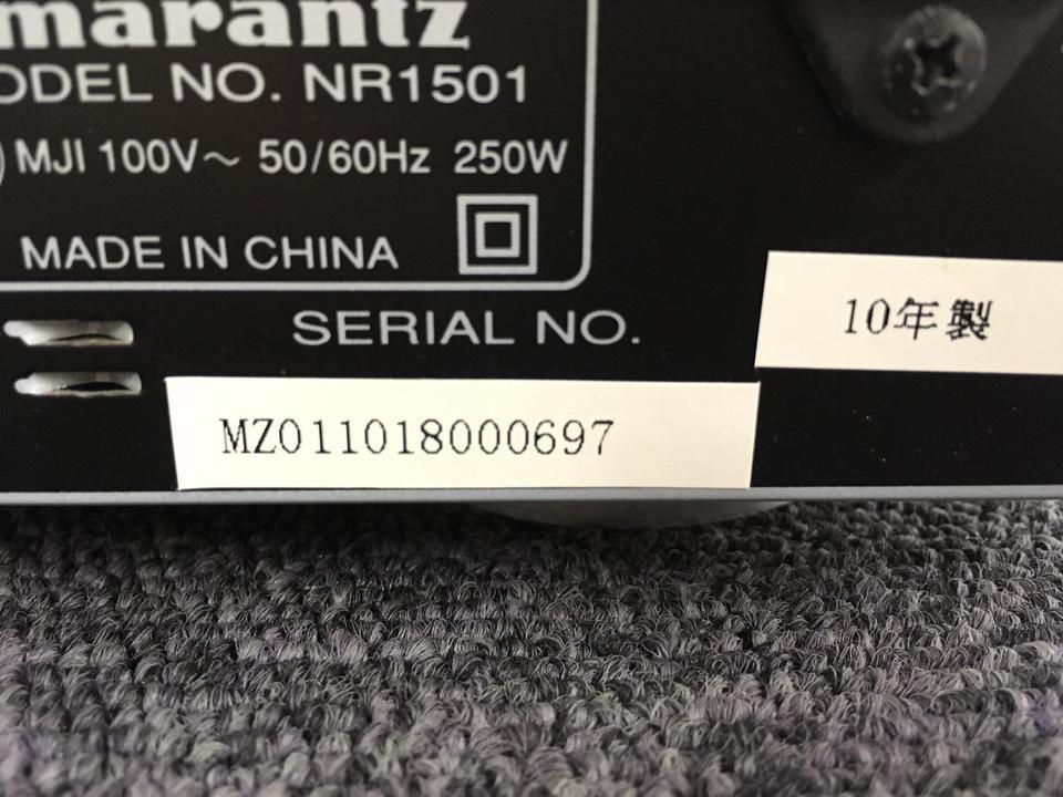 NR1501 MARANTZ 画像