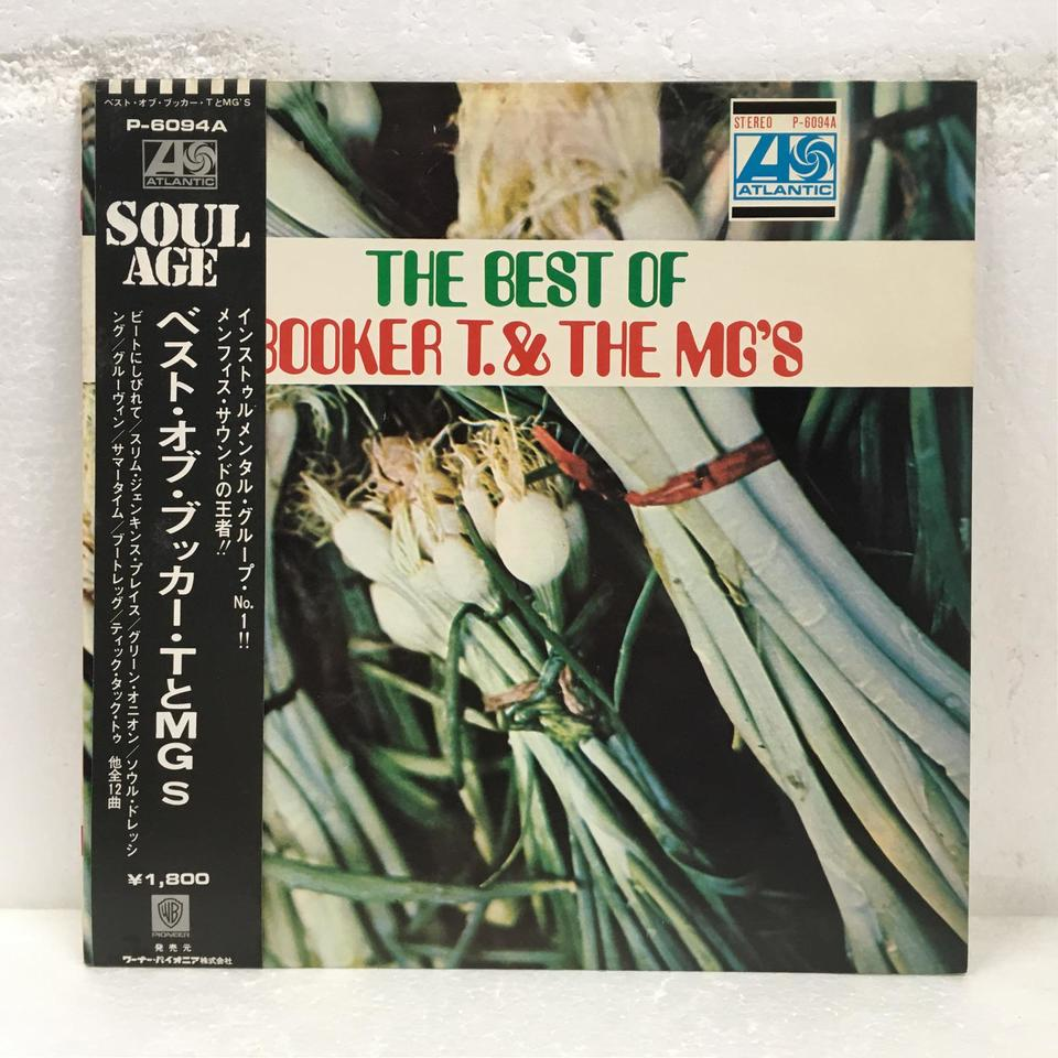 THE BEST OF BOOKER T. & THE MG'S BOOKER T. & THE MG'S 画像
