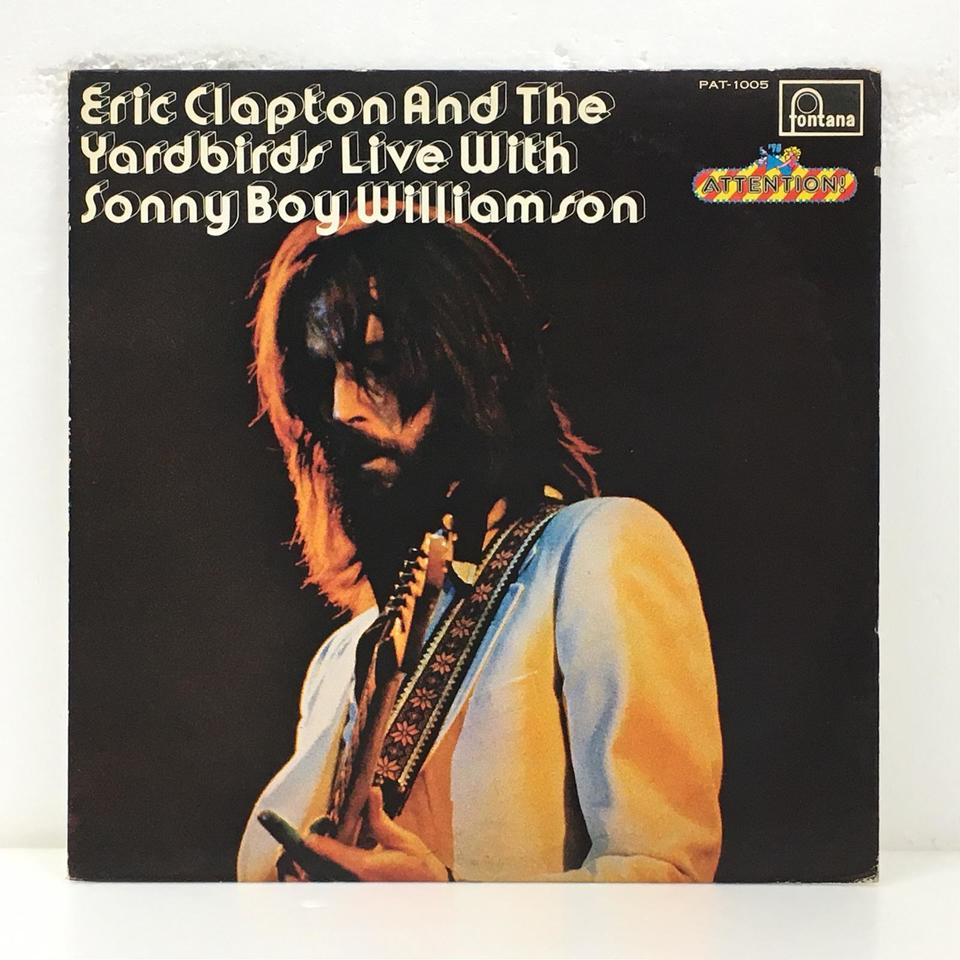 ERIC CLAPTON AND THE YARDBIRDS LIVE WITH SONNY BOY WILLIAMSON ERIC CLAPTON (YARDBIRDS) AND SONNY BOY WILLIAMSON 画像