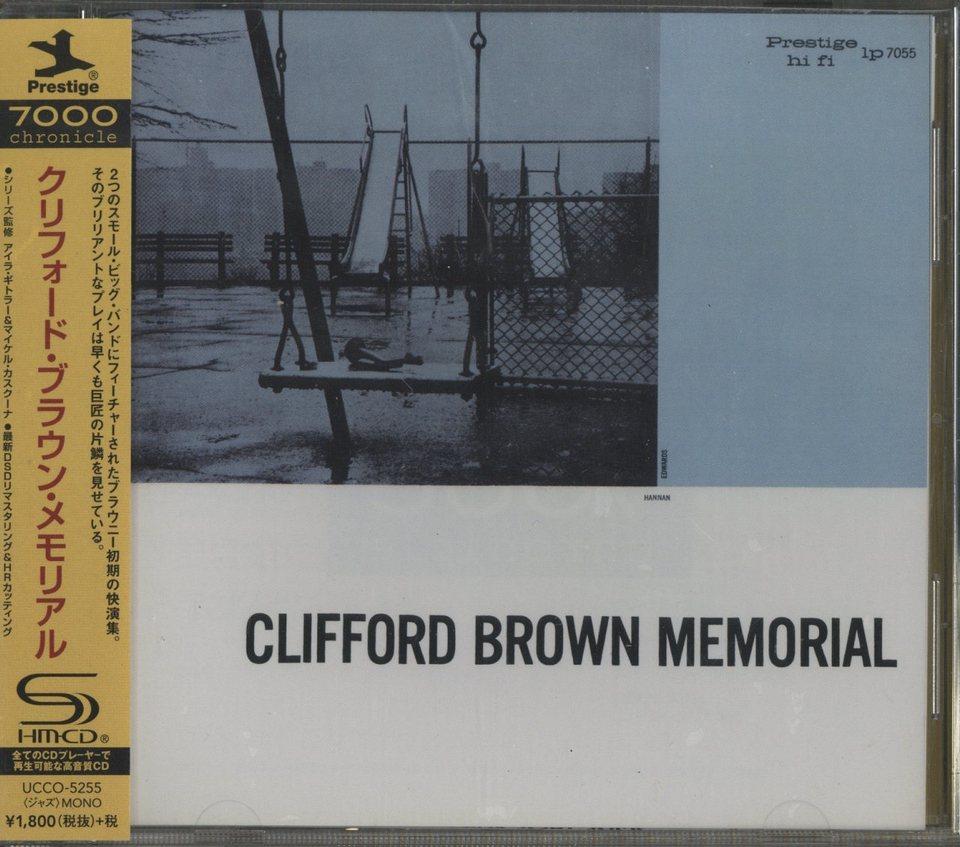 CLIFFORD BROWN MEMORIAL CLIFFORD BROWN 画像